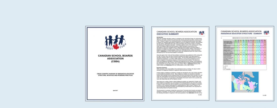 CSBA Research –  Indigenous Education
