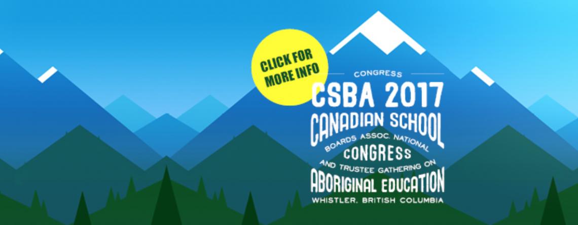 CSBA Congress 2017 and NTGAE