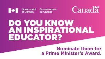 Prime Minister's Award web button